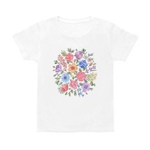 Tシャツ 花柄