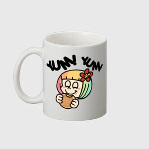 【マグカップ】HENOHENO MAPPY YUM