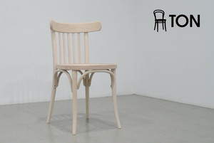 TON|CHAIR 763 アームレスチェア 無塗装(新品)