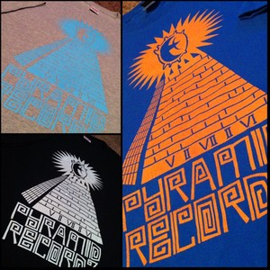 PYRAMID RECORDZ Logo T-Shirt