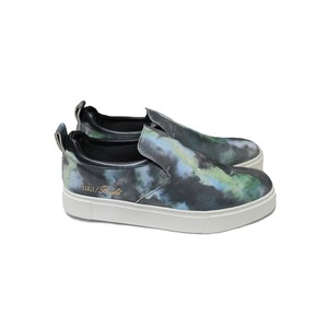 EARLE Drape slip-on sneakers / ER401(Color:Multi)