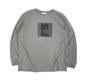 EIGHT DAYS A WEEK / WELDED LOGO L/S TEE