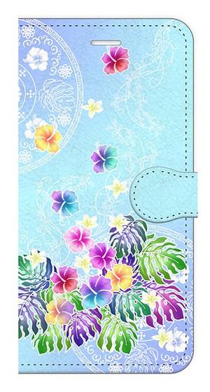 【iPhone7Plus】Rainbow Paradise レインボー・パラダイス 手帳型スマホケース