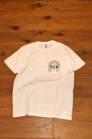 TACOMA FUJI RECORDS / THE WORKHORSE LOGO T-SHIRT