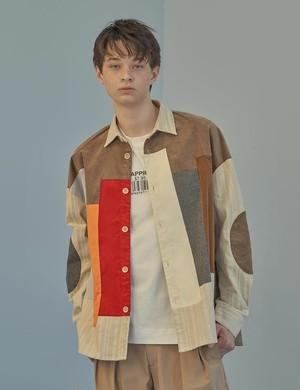 19030305068.0007 パッチワークシャツ