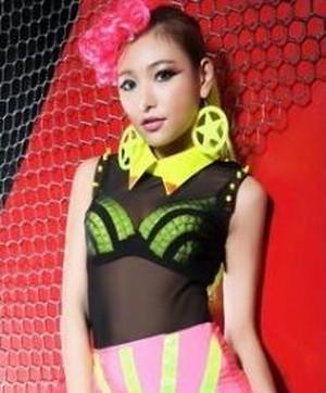 hippu719トップス上着/Tシャツレディース ダンスステージHIPHOP・ヒップホップ 舞台衣装・Danceコスチューム ダンスウェアJAZZ タンクトップ メッシュ