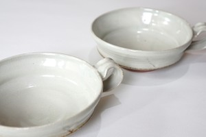 粉引スープカップ2客セット