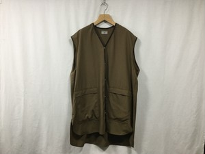 "HOMELESS TAILOR""BARBER VEST BROWN"""