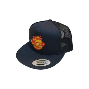 GIVE ME WAVES MESH CAP navy