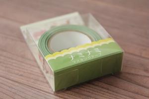 ナミナミ 型抜きマスキングテープ/アニマル・シルエット
