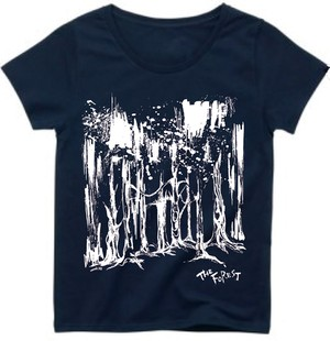 THE FOREST Tシャツ NAVY