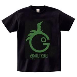 Gacci Birthday Tシャツ(黒×緑)