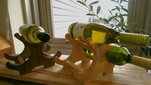 新商品 オリジナル ワインホルダー 手作りの注文受注