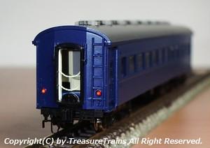 〔N/特製品〕オハフ33形(戦後型・青)