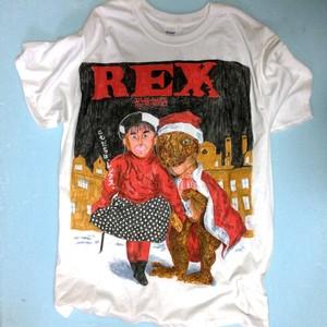 直筆TEE「REX」