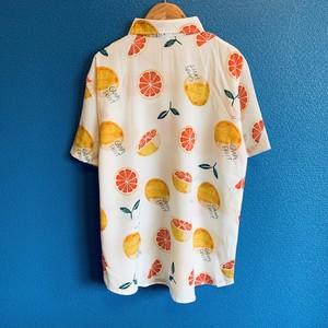 爽やかグレープフルーツのアロハシャツ