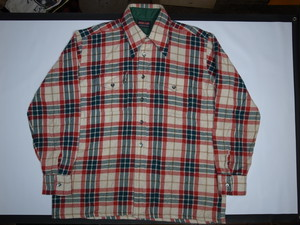 70's NORTH TRAIL Flannel BOX Shirts