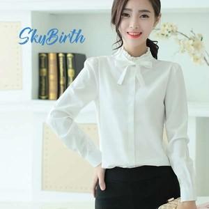 シャツ レディース 白シャツ Yシャツ ドレスシャツ  skbtb003