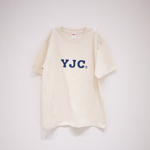 T-SHIRT NATURAL×BLUE / YJC-1709b