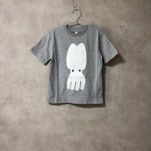 POP UP SHOP LOOSE TEE GRAY OCTOPUS