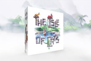 (予約商品 2020年3-4月入荷予定)「The Isle of Cats・5-6プレイヤー拡張・Kickstarter特典」セット 日本語和訳・シール付き予定
