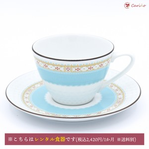 ノリタケ ハミングブルー ティー/コーヒーカップ&ソーサー(1700015)