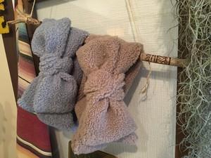 magic turban fluffy (beige & gray)