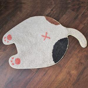 【ネコ】おしりマット(ミケ)【猫雑貨 肉球 neko ミケネコ】