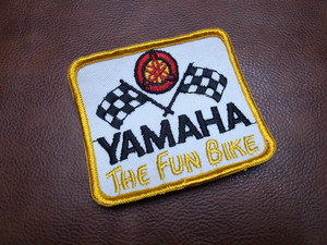 YAMAHA THE FUN BIKE Vintage Patch