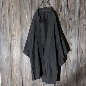 [used]mode black long haori