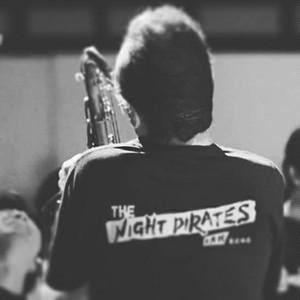 オリジナルTシャツ THE NIGHT PIRATES ロゴ入り