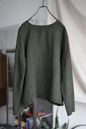 Vincent Jalbert - Full Vintage Linen T Shirt (khaki)