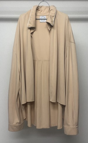 PER GOTESSON GATHERED COLLAR OVERSIZED SHIRT