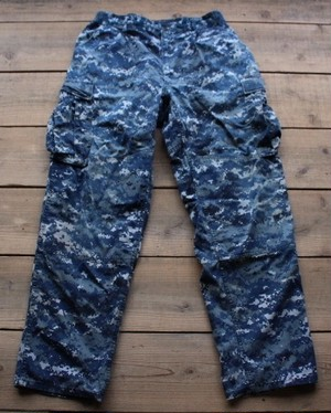 00's Trouser, Working, US NAVY デジカモ 【Fj1615】