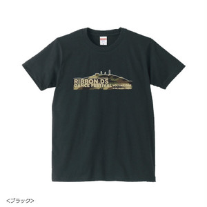 【NEW】RIBBON.DS DANCE FES VOL,ONE / TEE for UNISEX