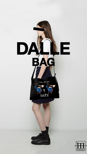DALLE,  gcc monsters musette bag
