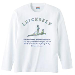 [ロングスリーブTシャツ] LEISURELY