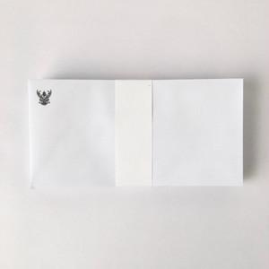 タイの白い封筒 洋型長6号(50枚セット)|White Envelope of Thai(Set of 50)