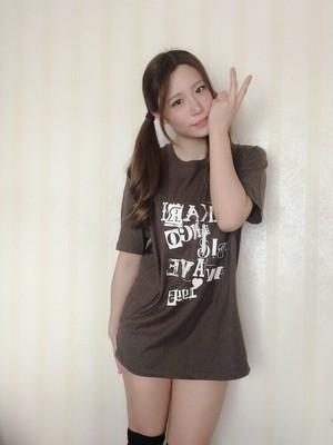 「あかりんごビッグウェーブ」Tシャツ(チャコール)+ポストカードセット