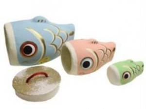 はりこーシカ鯉のぼり(3匹)