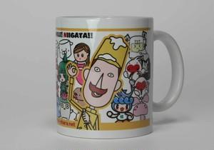 エヌキャラ集合マグカップ