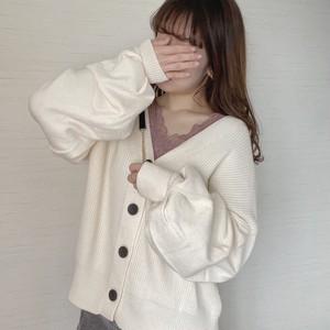 back ribbon cardigan [S-21]