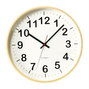 KATOMOKU plywood wall clock 2 km-42L
