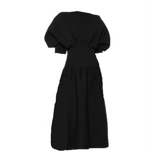 RIMI&Co. SELECT Premium Collection シルクブレンド ボートネックニットワンピース < Sweater Dress>