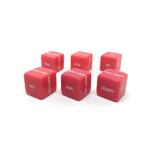 Love DICE set of 6