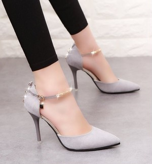 【shoes】High heel stylish single shoes