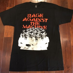 "RAGE AGAINST THE MACHINE / レイジ・アゲインスト・ザ・マシーン |【SALE!!】"" Skeleton Hands "" / バンドTee"
