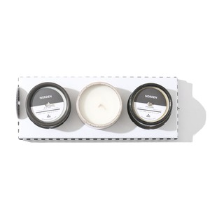 NORDEN GOODS 5OZ CERAMIC CANDLES SET(BIG SUR / OJAI / ORESUND)