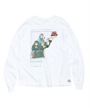 THRIFTY LOOK/TWINS MIX LS TEE.BREAK FAST CLUB ×BILLY JOEL   TL18S002LS