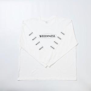WEEDINESS Big silhouette Long T-shirt